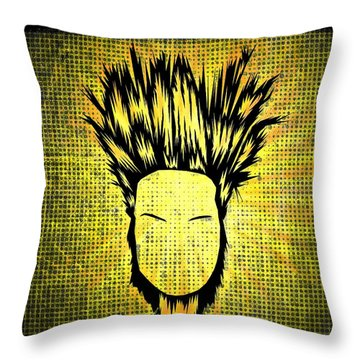 Static-x Throw Pillow
