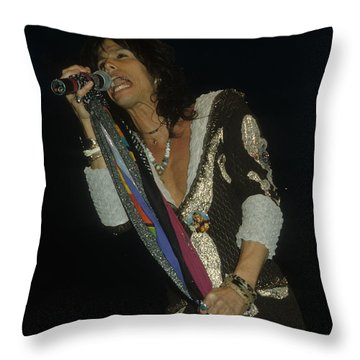 Steven Tyler Throw Pillow