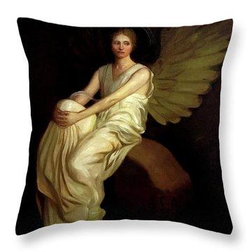 Stevenson Memorial Throw Pillow