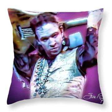 Stevie Ray Vaughan - Love Struck Baby Throw Pillow