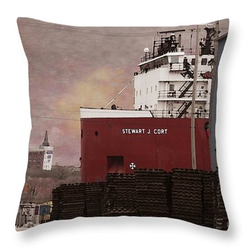 Stewart J Cort Throw Pillow