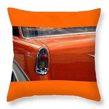 Still Cruisin Throw Pillow by Angela Davies