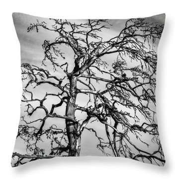 Still Standing - Black Edition Throw Pillow
