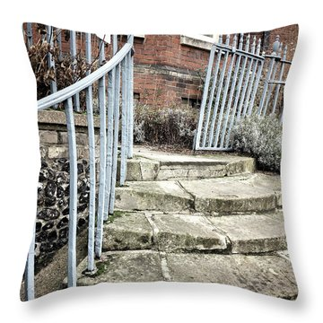 Stone Steps Detail Throw Pillow