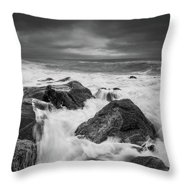 Throw Pillow featuring the photograph Stormy Morning by Will Gudgeon