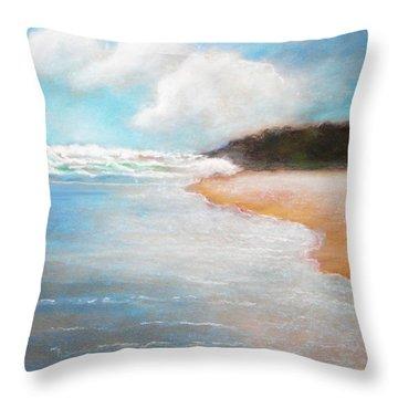 Stradbroke Island Throw Pillow