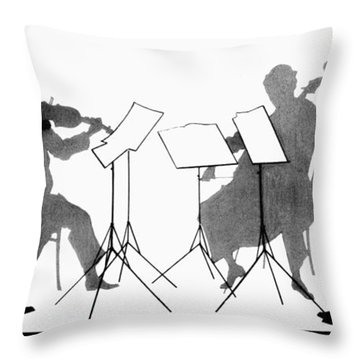 String Quartet, C1935 Throw Pillow by Granger