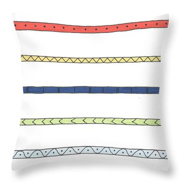 Striping Throw Pillow