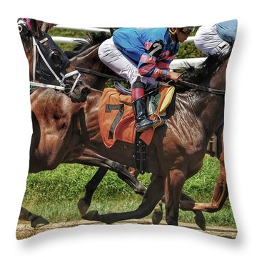 Striving Throw Pillow