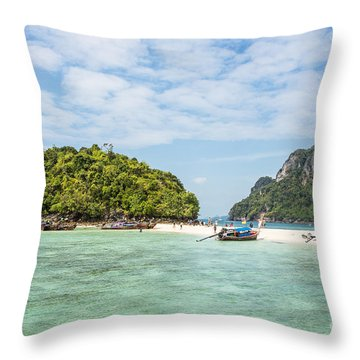 Stunning Krabi In Thailand Throw Pillow
