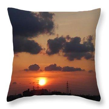 Sundown Throw Pillow