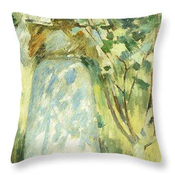 Dappled Sunlight Throw Pillows