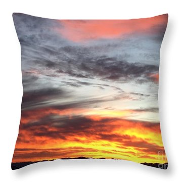 Sunrise Collection #4 Throw Pillow