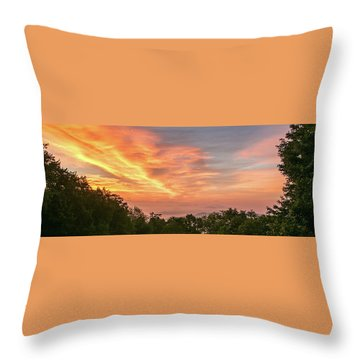 Sunrise July 22 2015 Throw Pillow