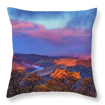 Sunrise Light Throw Pillow