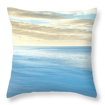 Sunrise Over Pacific Ocean, Lands End Throw Pillow