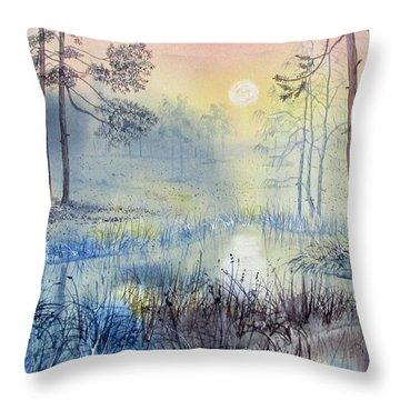 Sunrise To Serenity Throw Pillow