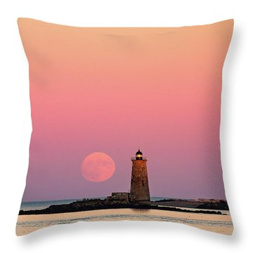 Super Moon 2016 Throw Pillow