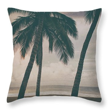 Throw Pillow featuring the photograph Surf Mates 2 by Nik West