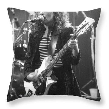 Susanna Hoffs Throw Pillow by David Plastik