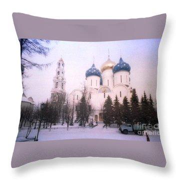 Suzdal  Russia Church Throw Pillow