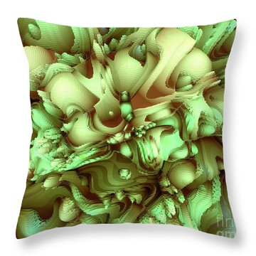Sweet Flowers Throw Pillow