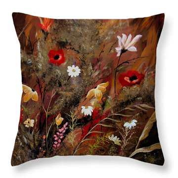 Sweet Inspiration Throw Pillow by Ruth Palmer