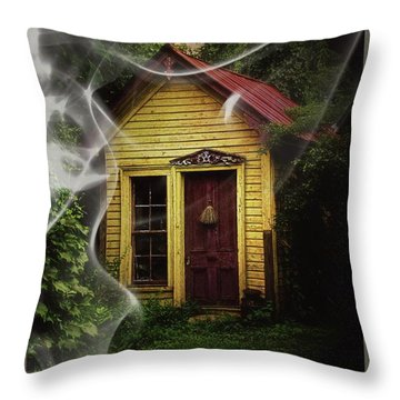 Throw Pillow featuring the photograph Swept Away by Jessica Brawley