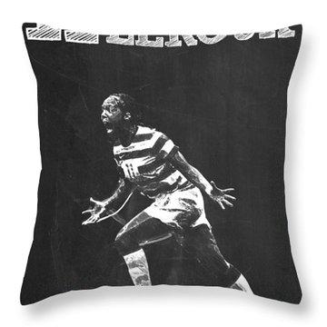 Sydney Leroux Throw Pillow by Semih Yurdabak