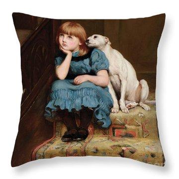 Sympathy Throw Pillow