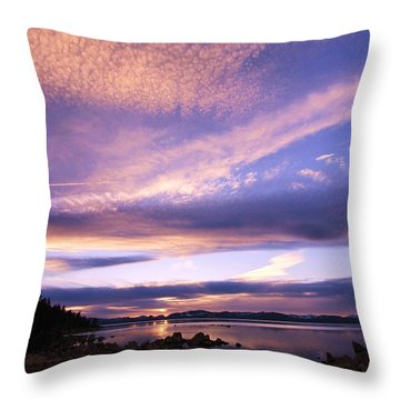 Throw Pillow featuring the photograph Tahoe Wow by Sean Sarsfield