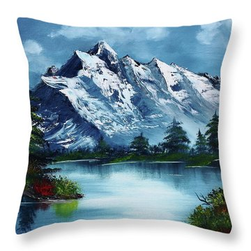 Take A Breath Throw Pillow