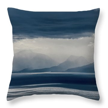 Tallac Stormclouds Throw Pillow