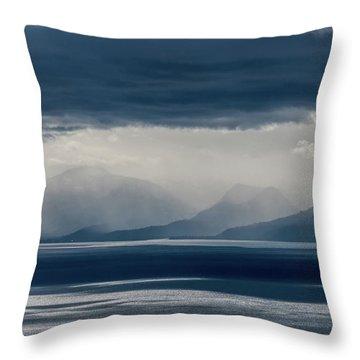 Tallac Stormclouds Throw Pillow