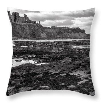 Tantallon Castle Throw Pillow