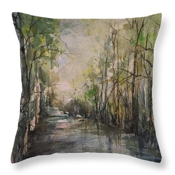 Bayou Liberty Throw Pillow