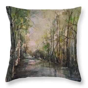 Bayou Liberty Throw Pillow