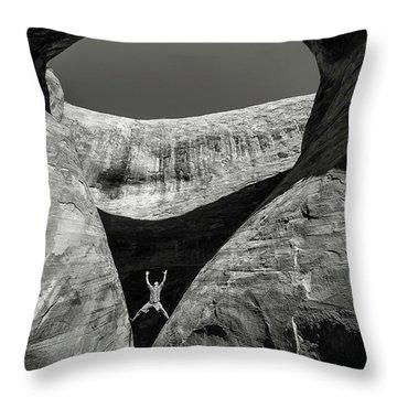 Teardrop Arch Throw Pillow