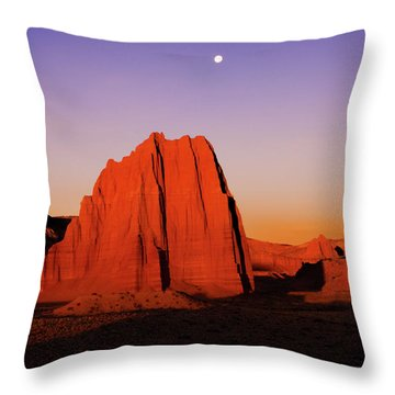 Throw Pillow featuring the photograph Temple Of The Sun by Norman Hall