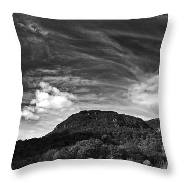 Tennessee River Gorge Throw Pillow