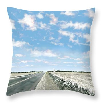 Texas 36 Throw Pillow
