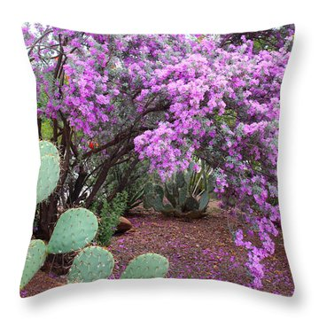 Texas Sage Throw Pillow