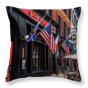 Fells Point Baltimore Throw Pillows