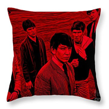 The Animals Collection Throw Pillow