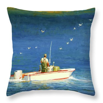 The Bayman Throw Pillow