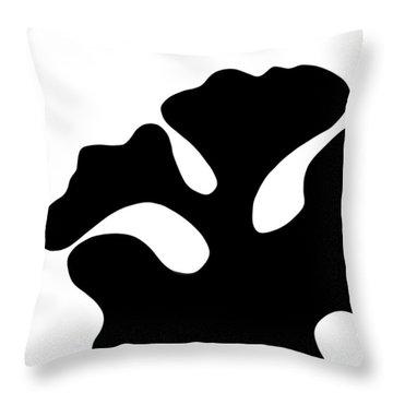 The Blob  Throw Pillow by Saad Hasnain