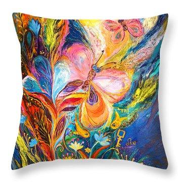 The Butterflies Throw Pillow