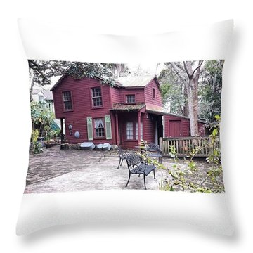 The Carpenter's House Throw Pillow