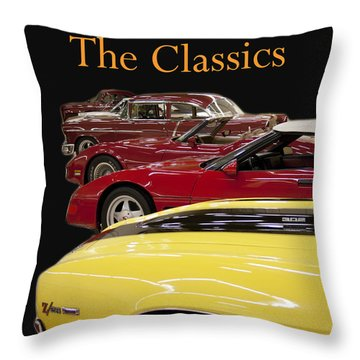 Throw Pillow featuring the photograph The Classics by B Wayne Mullins