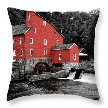The Clinton Mill Throw Pillow